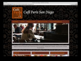 Cafe Paris Group 3