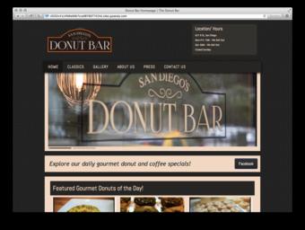 Donut Bar Group 1