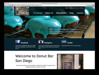 Donut Bar Group 2