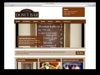 Donut Bar Group 3